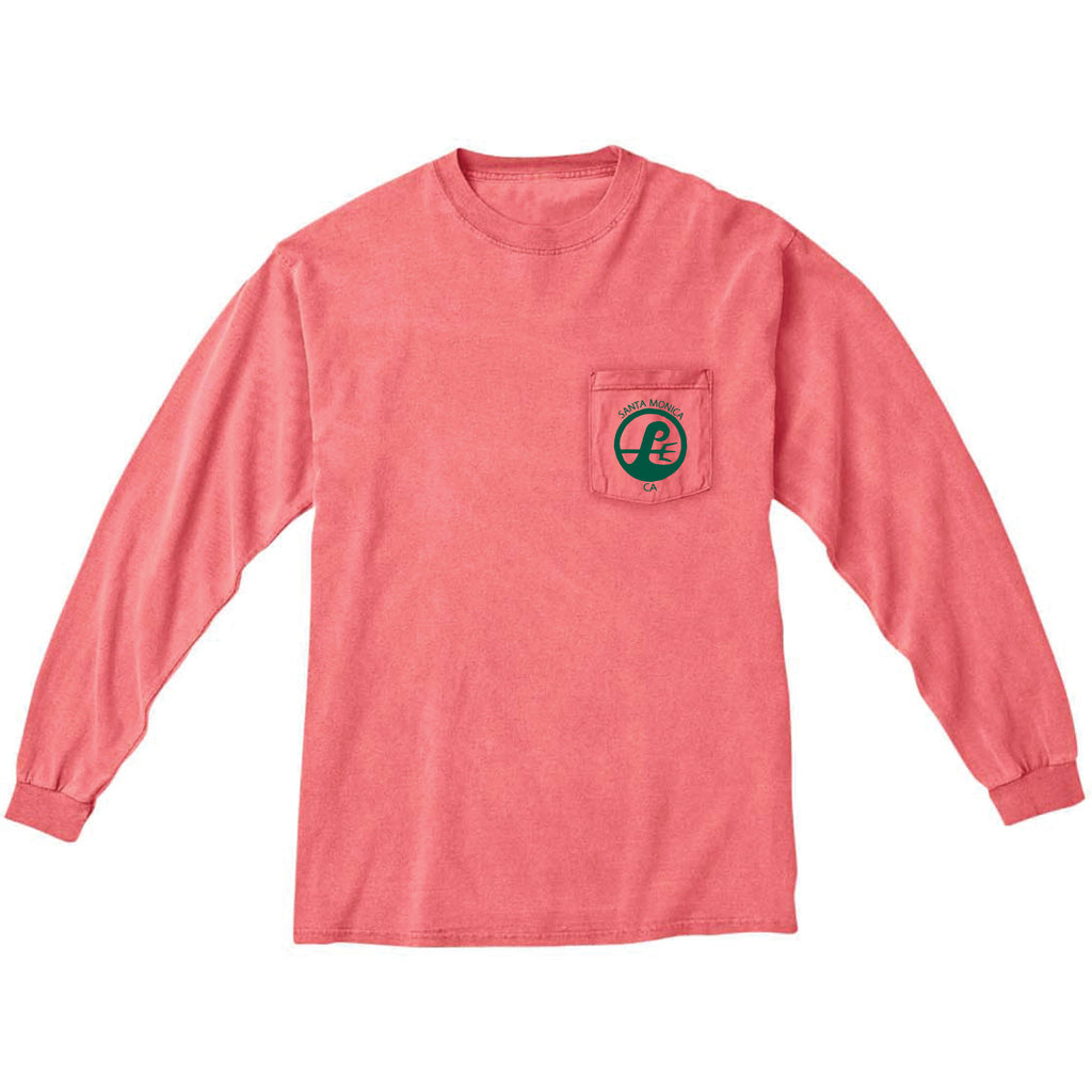Poseidon Unisex Surf Shop Long Sleeve Tee