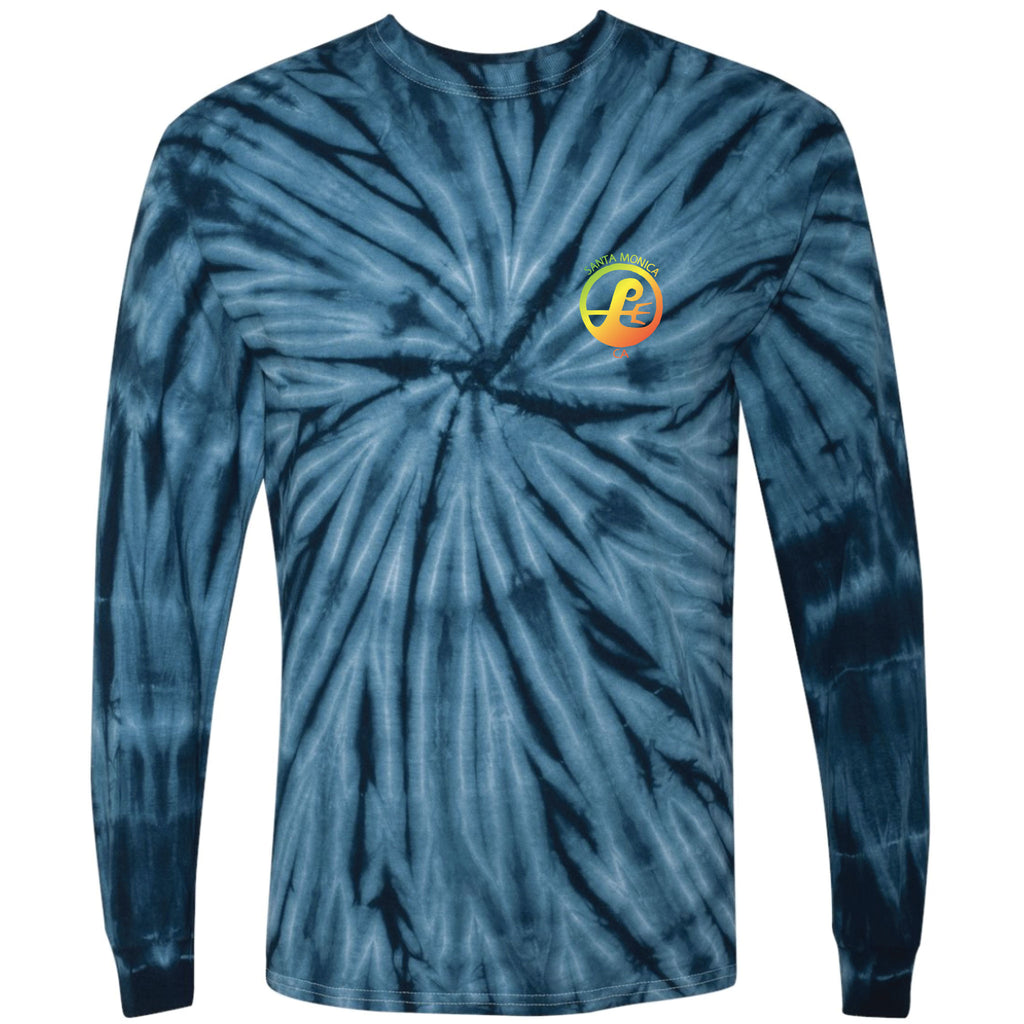 Poseidon Shop Tie Dye Long Sleeve Tee