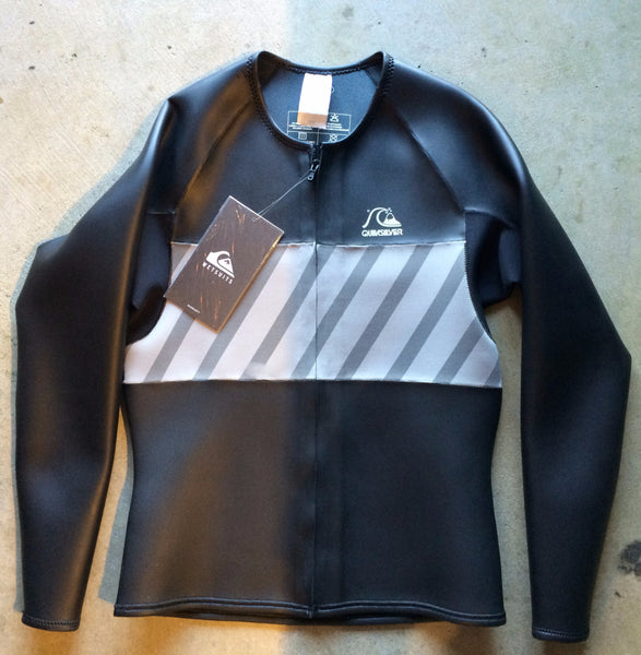55eae1f22b Quicksilver Retro Front Zip Wetsuit Jacket – Poseidon Collective ...