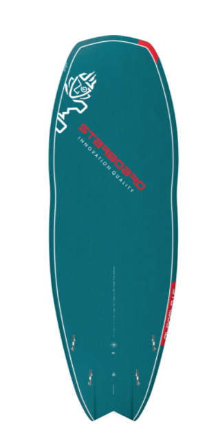 "2021 STARBOARD 7'10"" X 31.5"" HYPER NUT BLUE CARBON SUP BOARD"