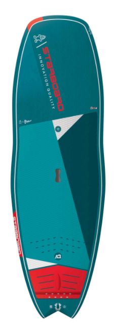 "2021 STARBOARD 8'4"" X 31.5"" HYPER NUT BLUE CARBON SUP BOARD"
