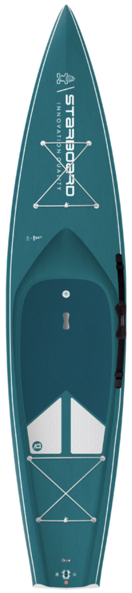 "2021 STARBOARD 12'6"" X 31"" TOURING CARBON TOP SUP BOARD"