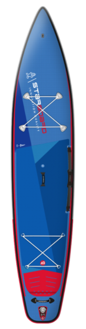 "2021 STARBOARD 12'6"" X 28"" X 6"" TOURING DELUXE SC INFLATABLE SUP BOARD"