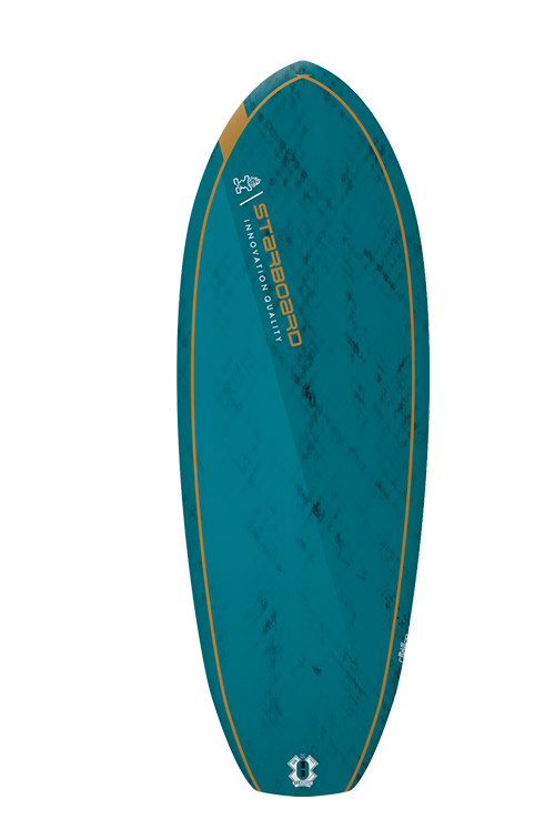 "2021 STARBOARD 4'8"" X 19.25"" FOIL SURF BLUE CARBON V.2 SUP BOARD"
