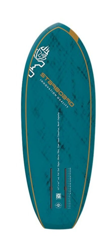 "2021 STARBOARD 4'3"" X 18.5"" FOIL SURF BLUE CARBON V.2 SUP BOARD"