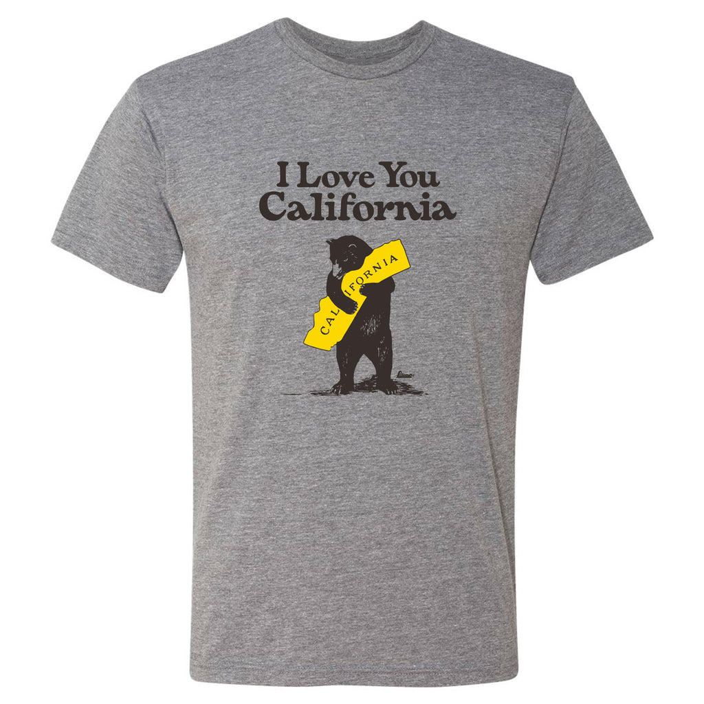 Poseidon Mens Tee I Love You California