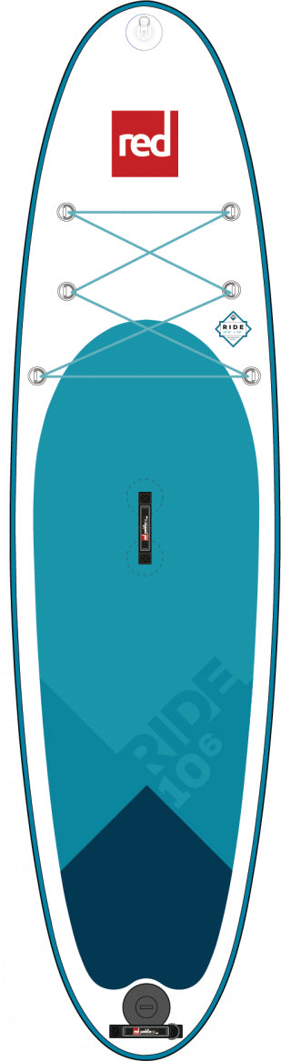 "Red Paddle Co. 10'6"" RIDE MSL inflatable SUP"