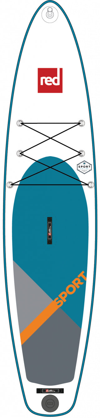 "Red Paddle Co. 11'0"" SPORT MSL inflatable SUP"