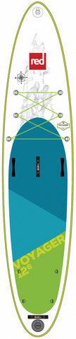 "Red Paddle Co. 12'6"" VOYAGER MSL inflatable SUP"