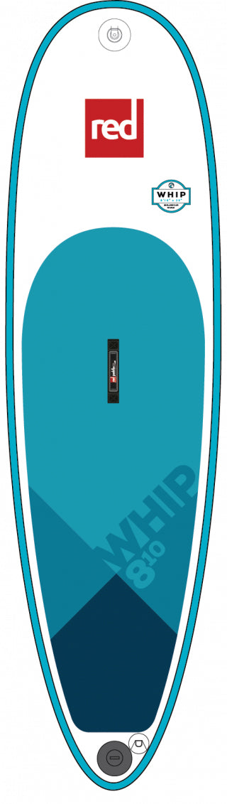 "Red Paddle Co. 8'10"" WHIP MSL inflatable SUP"