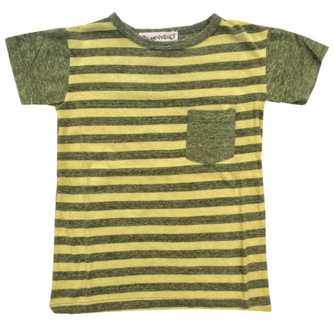 Pocket T-Shirt - Peas and Queues Kids