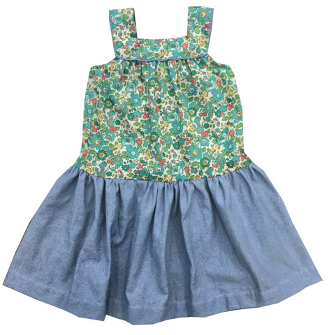 Elsie Party Dress - Peas and Queues Kids  - 1
