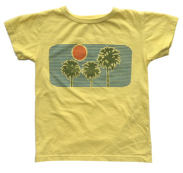 T Shirt - Palm - Peas and Queues Kids