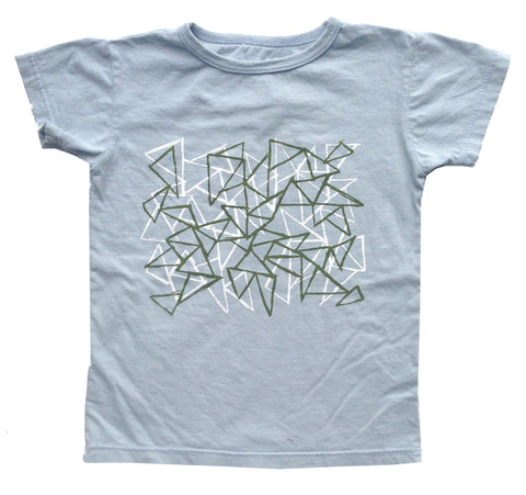 T Shirt - Grid - Peas and Queues Kids  - 1