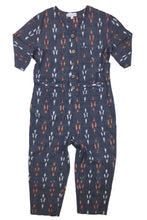 Load image into Gallery viewer, Fern ikat mom romper
