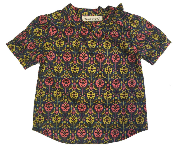 Frances Blouse - Peas and Queues Kids  - 2