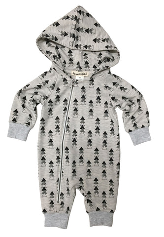 Grant hooded romper