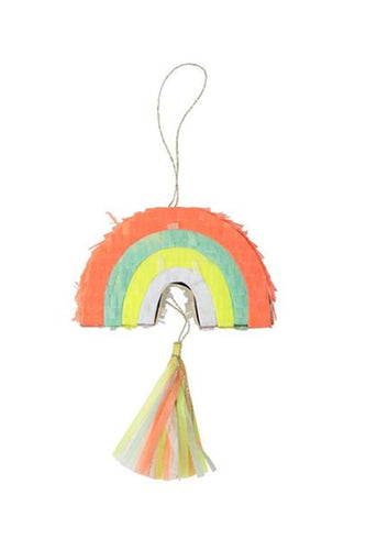 Mini rainbow pinatas