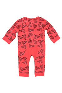 Pizza baby romper