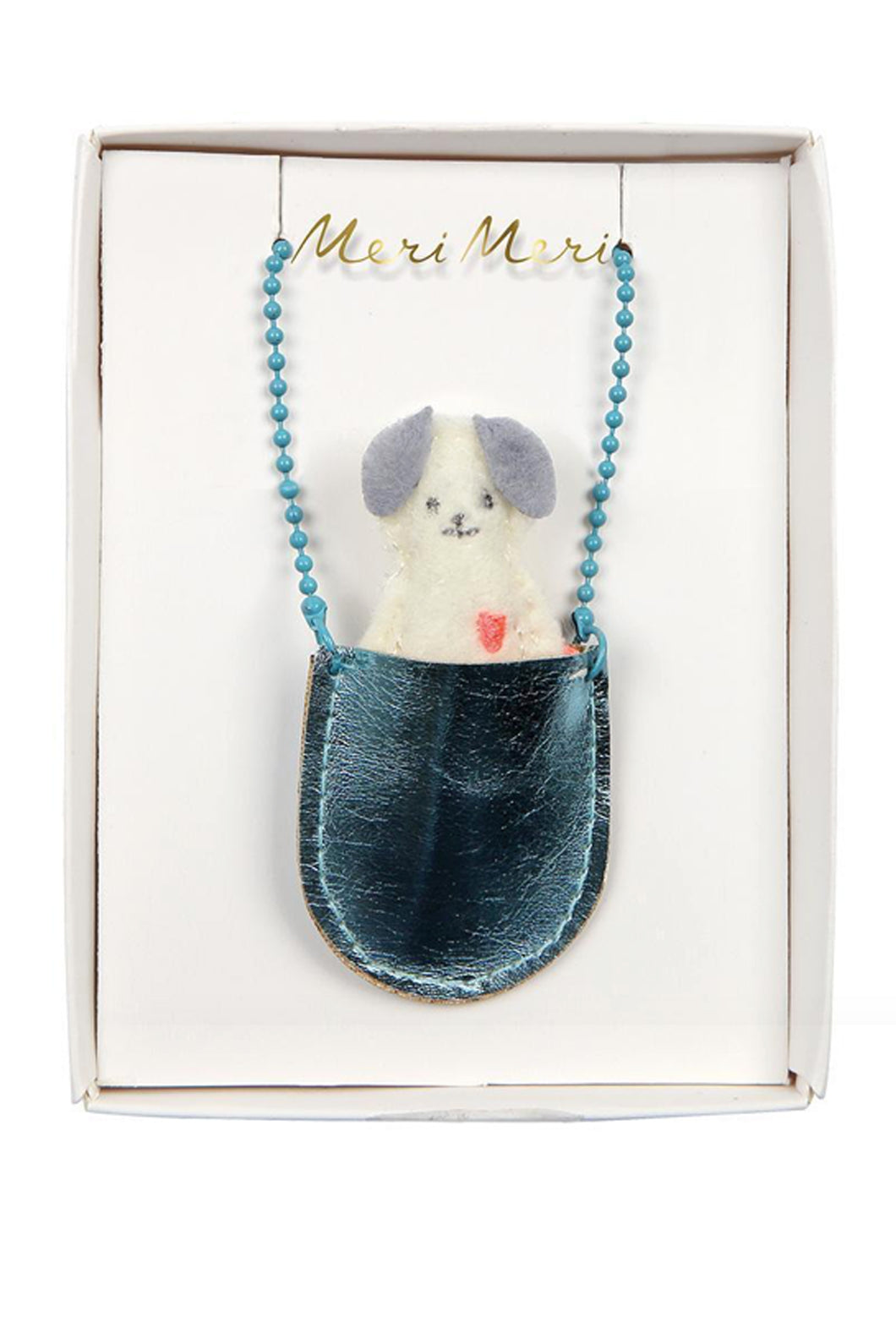 Dog pocket necklace