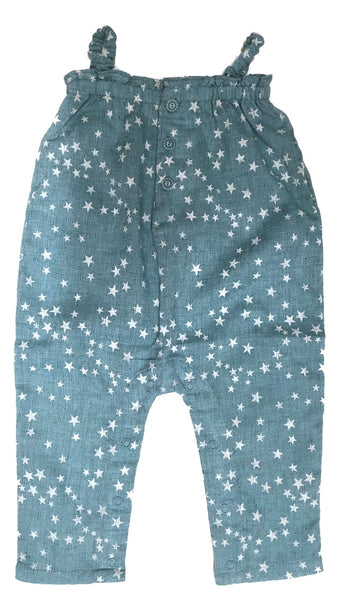 Rosemary Romper Teal Star