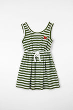 Load image into Gallery viewer, Strawberry fields dress - stripe