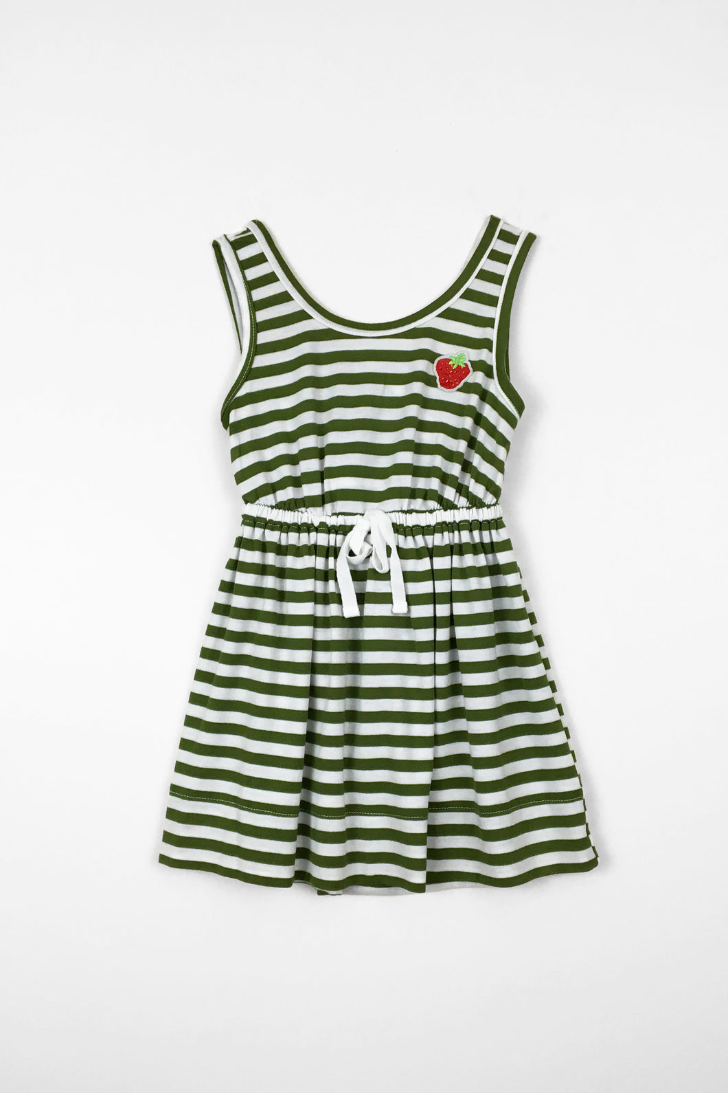 Strawberry fields dress - stripe