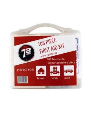 108pc First Aid Kit