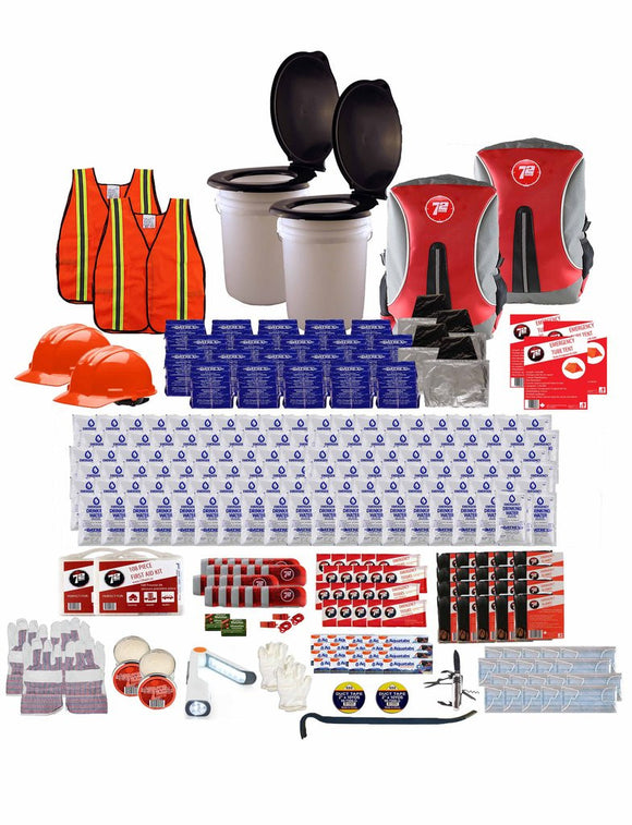 72hrs 20 Person Group Earthquake Kit - EarthquakeKit.ca