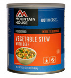 Mountain House ® Vegetable Stew with Beef (9-10 Servings) - EarthquakeKit.ca