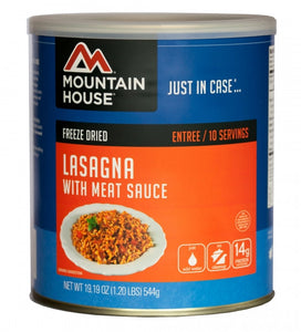 Mountain House ® Lasagna with Meat Sauce (10 Servings) - EarthquakeKit.ca