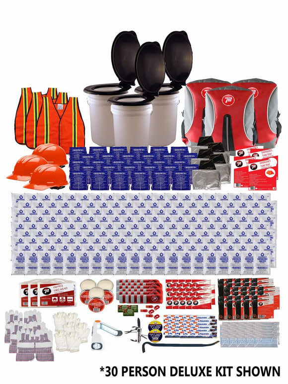 72hrs 70 Person Group Earthquake Kit - EarthquakeKit.ca