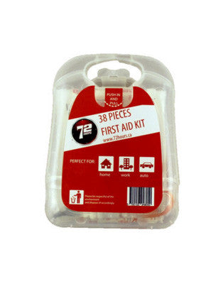 38pc First Aid Kit - EarthquakeKit.ca