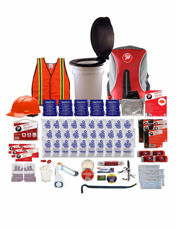 72hrs 5 Person Group Earthquake Kit - EarthquakeKit.ca