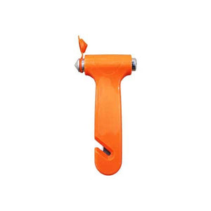 Vehicle Emergency Hammer with Seat Belt Cutter.