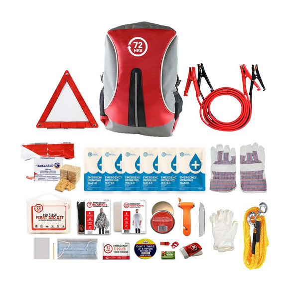 Deluxe Backpack Vehicle Earthquake Kit