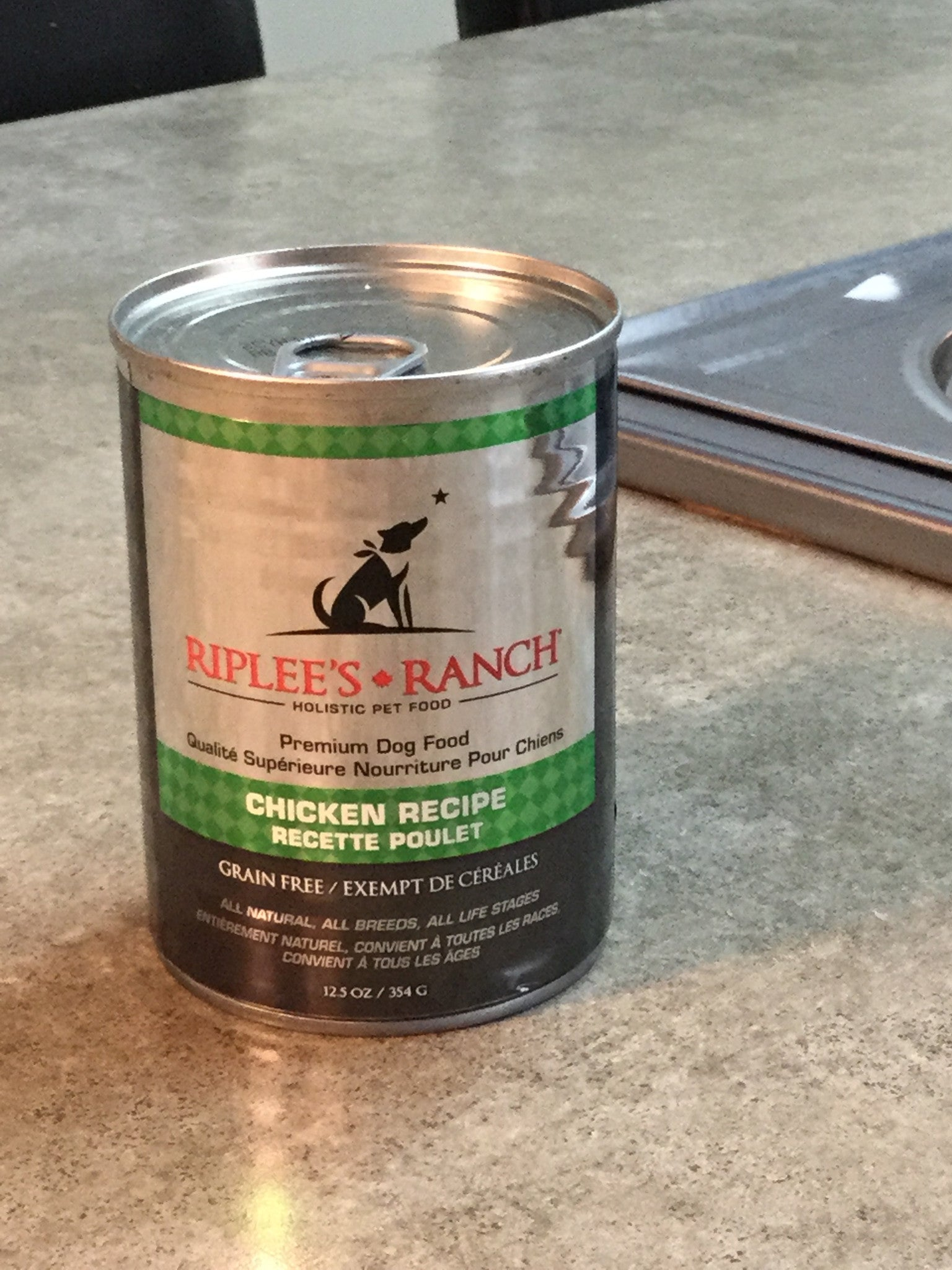 354 Gram Can of Riplee's Ranch Premium Holistic Dog Food