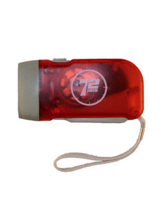Hand-Crank LED Flashlight - EarthquakeKit.ca