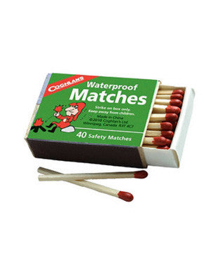 Waterproof Matches (Pack of 40)