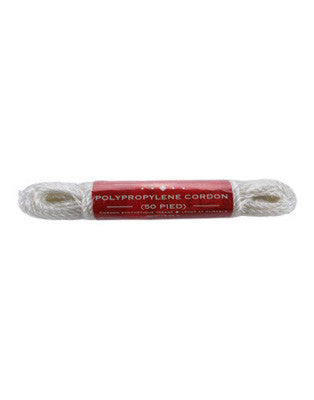 50ft Nylon Utility Cord (Rope) - EarthquakeKit.ca