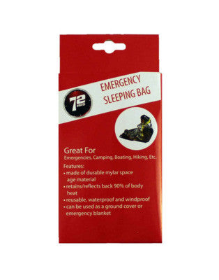 Emergency Sleeping Bag - EarthquakeKit.ca