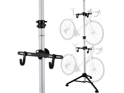 Free-Standing Aluminium Alloy Bike Rack (Telescopic)
