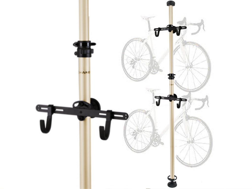 Floor-To-Ceiling Aluminium Alloy Bike Rack (Telescopic) - kookabike - 1