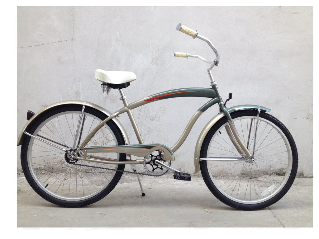 "Foose 26"" Grand Master Beach Cruiser Single-Speed Bike - kookabike - 1"