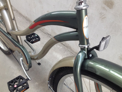 "Foose 26"" Grand Master Beach Cruiser Single-Speed Bike"