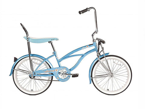 "Micargi Hero 20"" Lowrider Retro Kids' Bike (Baby Blue)"