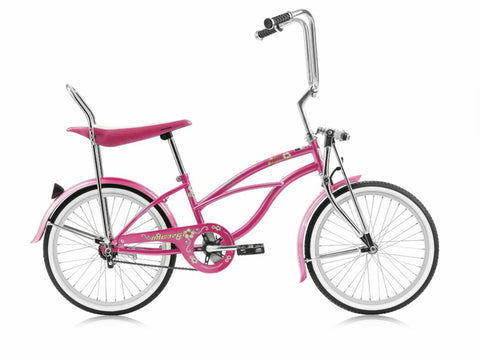 "Micargi Hero 20"" Lowrider Retro Kids' Bike (Pink)"