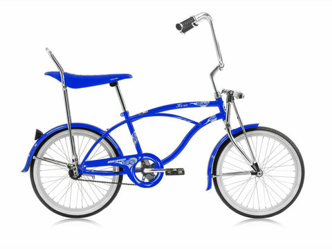 "Micargi Hero 20"" Lowrider Retro Kids' Bike (Blue as a Whale)"