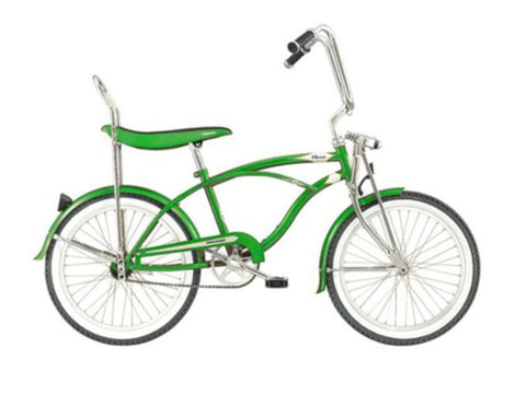 "Micargi Hero 20"" Lowrider Retro Kids' Bike (Goblin Green)"