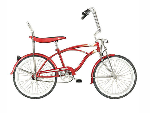 "Micargi Hero 20"" Lowrider Retro Kids' Bike (Power Red)"
